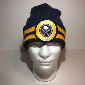 Buffalo Sabres New Era Beanie Winter Knit Hat Blue